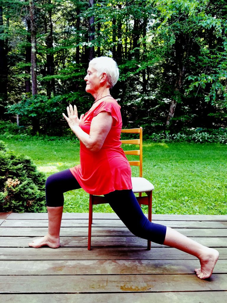 Carol Yoga Knee pose