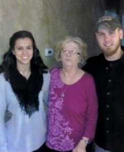 Beth, Mom, Brother