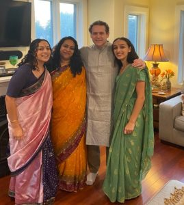 Tia Ganguly and her Family